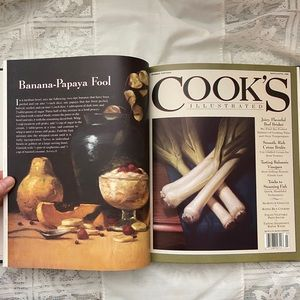 1995 Cooks Illustrated collection